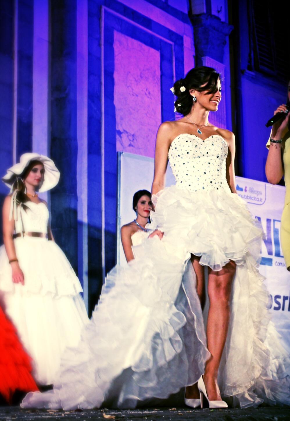 Indossatrice abiti da sposa firenze